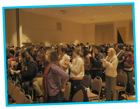 Standing Ovation at Gustavus Adolphus College